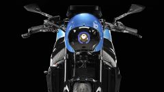 Suzuki GSX-S750 Zero by Officine GP Design: dettaglio de frontale