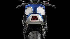 Suzuki GSX-S750 Zero by Officine GP Design: dettaglio del posteriore