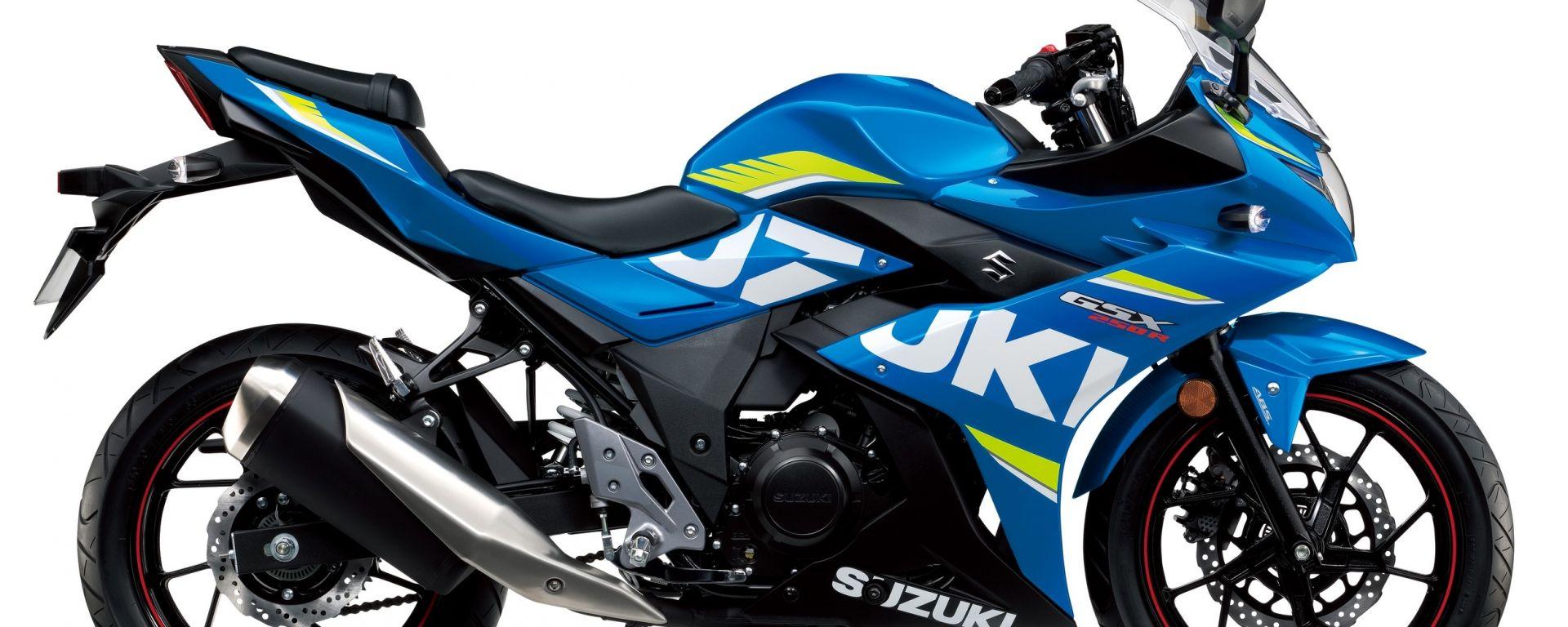 Suzuki GSX250R 2017, Blue MotoGP