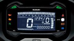 Suzuki GSX250R 2017, quadro strumenti digitale