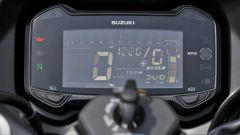 Suzuki GSX250R: dettaglio del quadro strumenti