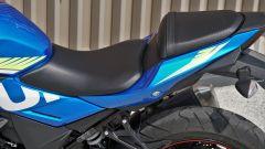 Suzuki GSX250R: dettaglio della sella