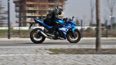 Suzuki GSX250R: il test ride