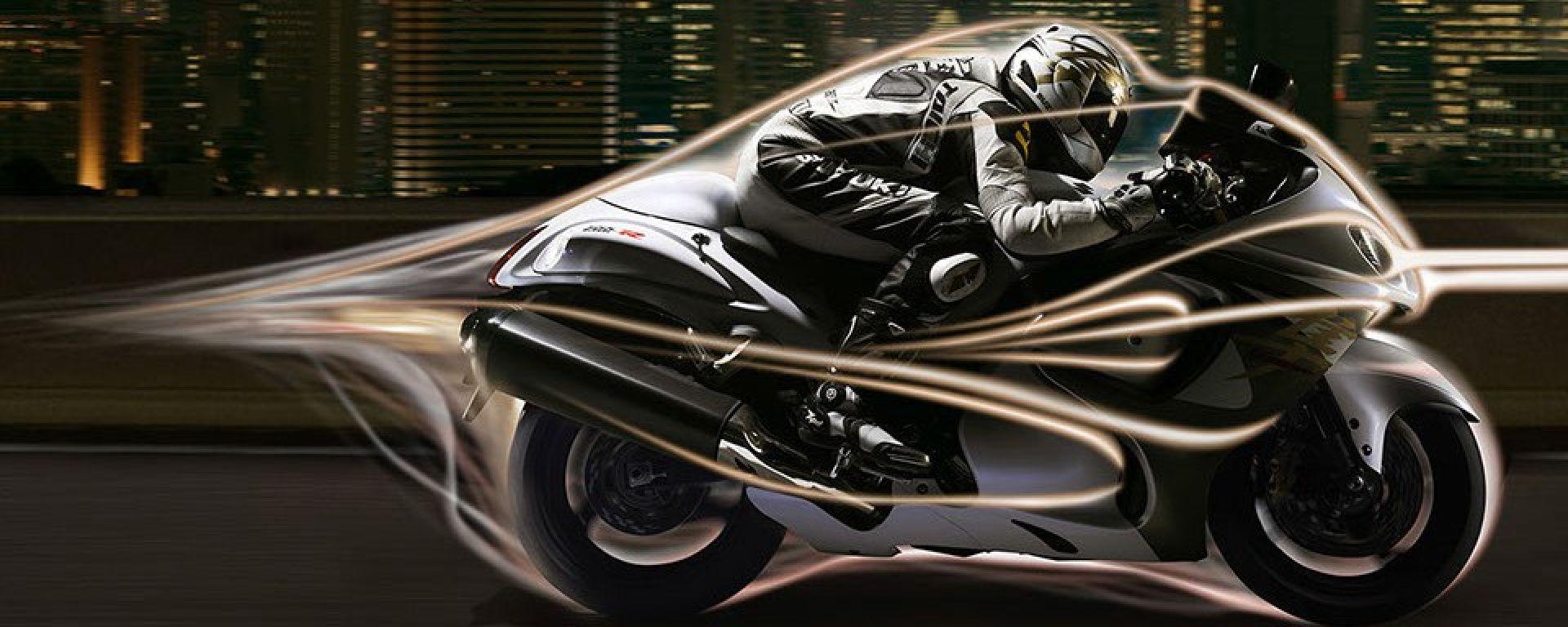 Suzuki brevetta Hayabusa. Per ora solo il logo, ma in futuro...