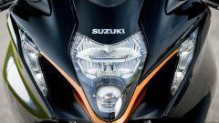 Suzuki Hayabusa 2021: il faro anteriore full LED