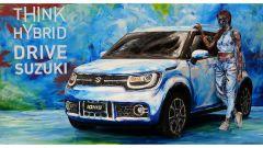 Suzuki Hybrid Art: la Ignis diventa arte al Parco Valentino - Immagine: 1