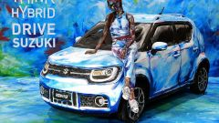 Suzuki Hybrid Art: la Ignis diventa arte al Parco Valentino - Immagine: 2