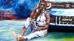 Suzuki Hybrid Art: la Ignis diventa arte al Parco Valentino - Immagine: 3