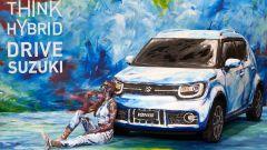 Suzuki Hybrid Art: la Ignis diventa arte al Parco Valentino - Immagine: 4