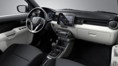 Suzuki Ignis 2017, ha un infotainment da 7 pollici