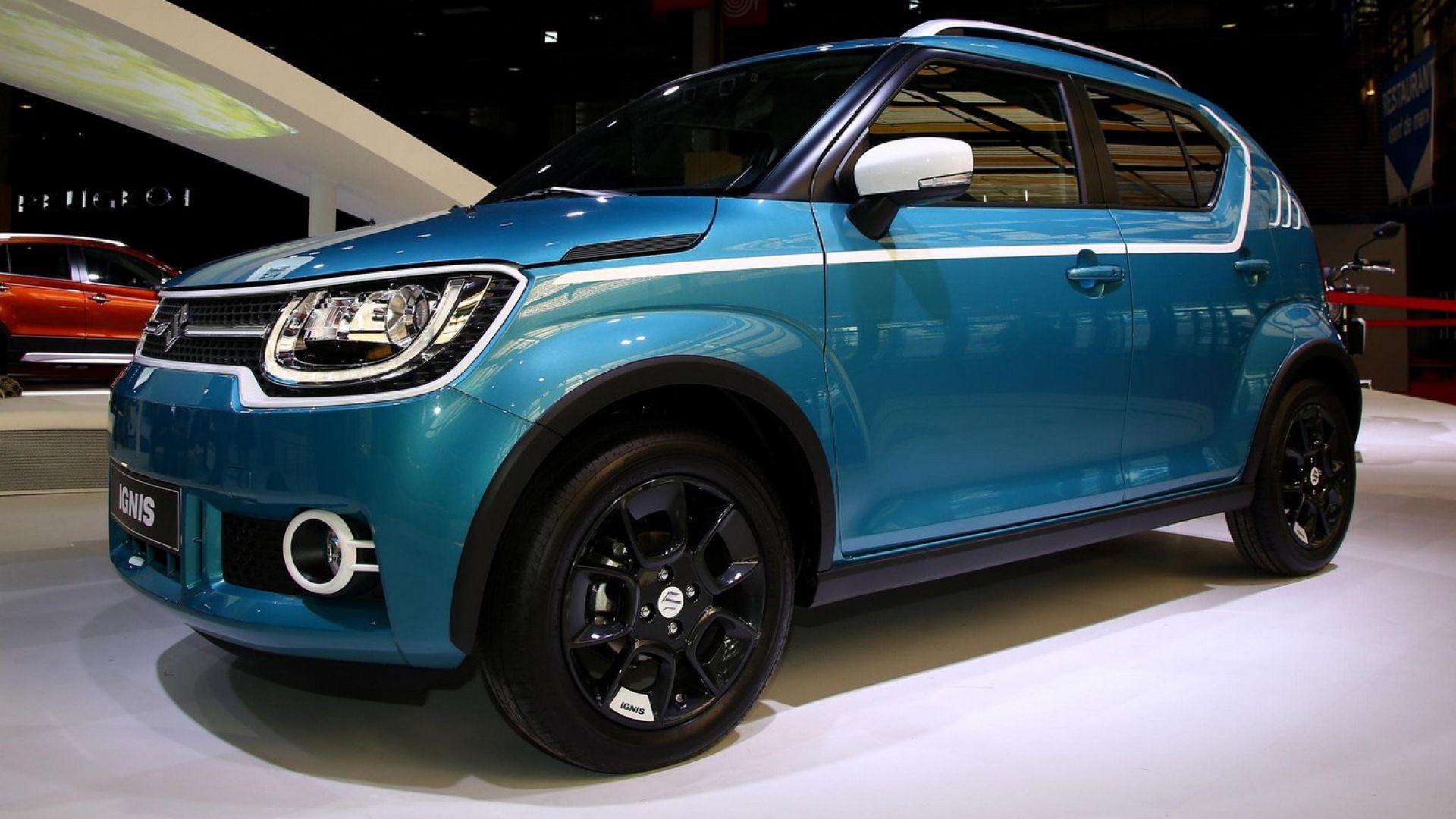 4X4 Off Road >> Salone di Parigi 2016: Suzuki Ignis 2017: il suv diventa tascabile - MotorBox
