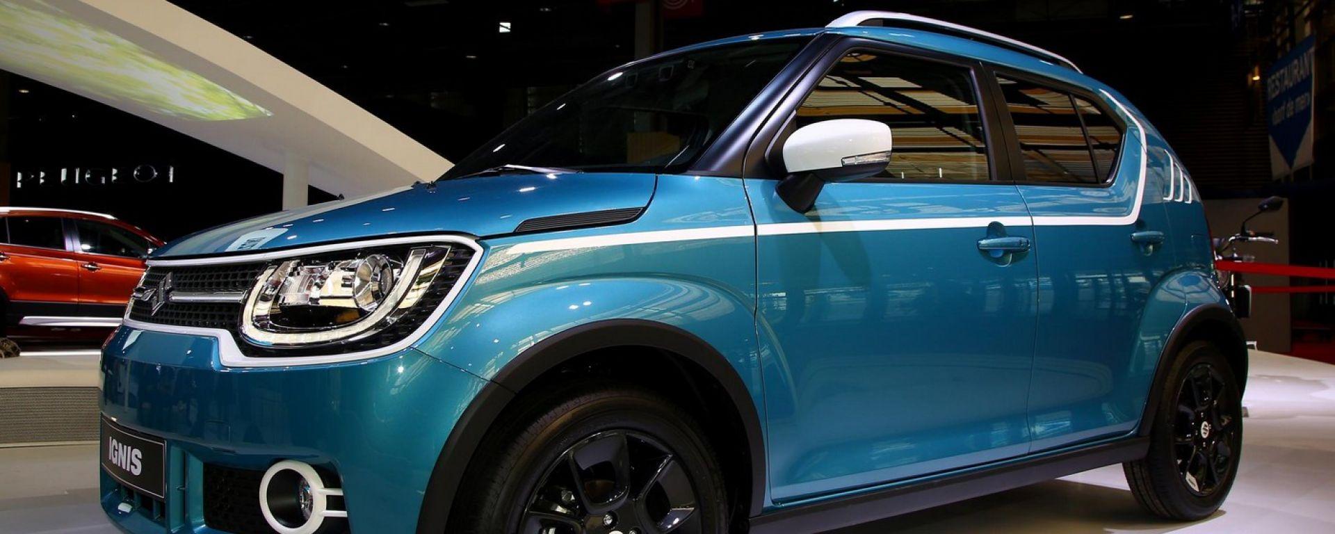 Suzuki Ignis 2017: il suv diventa tascabile