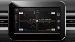 Suzuki Ignis Hybrid 2020, il display centrale