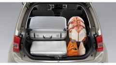 Suzuki Ignis Hybrid 2020, il vano bagagli