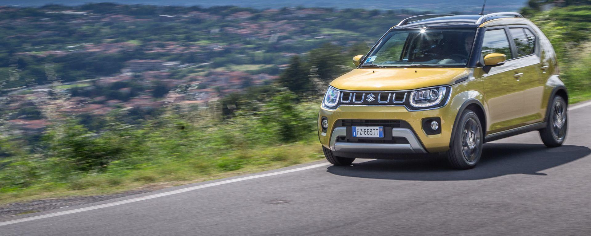Nuova Suzuki Ignis Hybrid, più scattante e risparmiosa. La prova