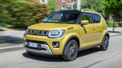 Suzuki Ignis Hybrid 2020, nuova calandra