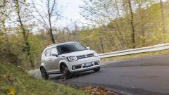 Suzuki Ignis, i consumi dichiarati spaziano da 20 a 23 km/l a seconda delle versioni