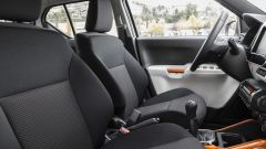 Suzuki Ignis, i sedili anteriori