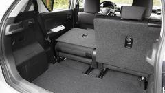 Suzuki Ignis, il bagagliaio va da un minimo di 260 a un massimo di 360 litri nelle versioni 2WD