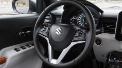 Suzuki Ignis, il volante multifunzione è di serie