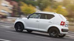 Suzuki Ignis, la visibilità è generosa in tutte le direzioni