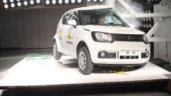 Suzuki Ignis, tre stelle nei crash test. Che diventano cinque col safety pack