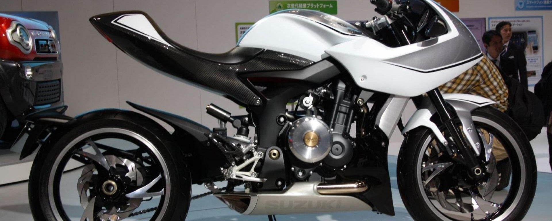 Suzuki: il turbo è in arrivo, sarà la nuova Katana?