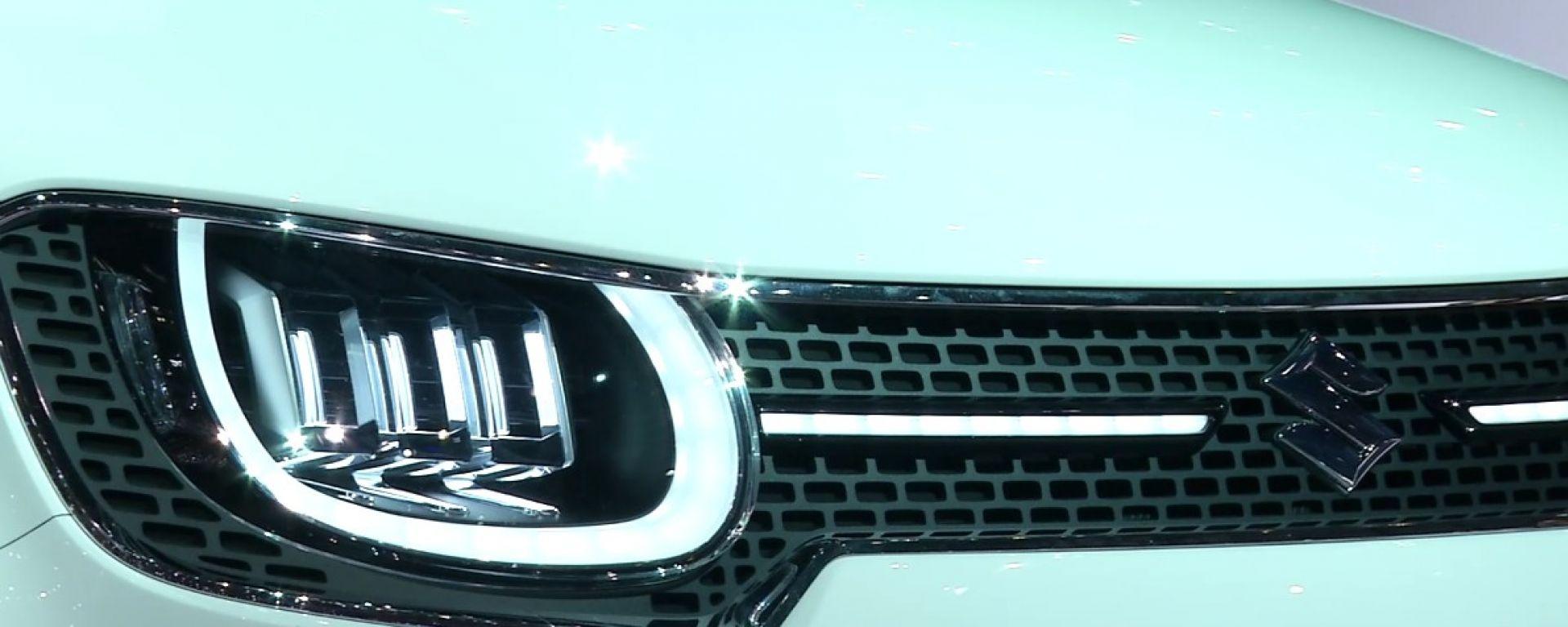 Suzuki: il video dallo stand