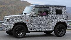 Suzuki Jimny 2018: nuovo look, stessa pasta. Le prime foto su strada - Immagine: 7