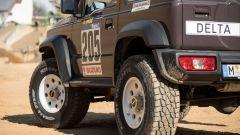 Suzuki Jimny 2019 Paris-Dakar: dettaglio dei passaruota maggiorati