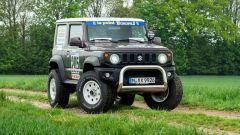 Suzuki Jimny 2019 Paris-Dakar: il bull-bar è approvato dalle norme UE per la protezione dei pedoni