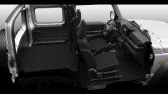Suzuki Jimny autocarro, ampio spazio per bagagli e strumenti da lavoro