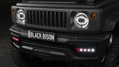 Suzuki Jimny Black Bison: dettaglio della griglia anteriore
