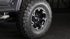 Suzuki Jimny Black Bison: dettaglio della ruota
