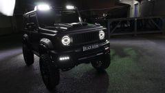 Suzuki Jimny Black Bison: luci a led sul tetto