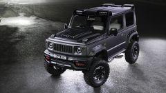 Suzuki Jimny Black Bison: si noti il nuovo cofano