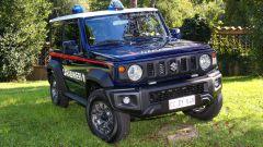 Suzuki Jimny Carabinieri: il frontale