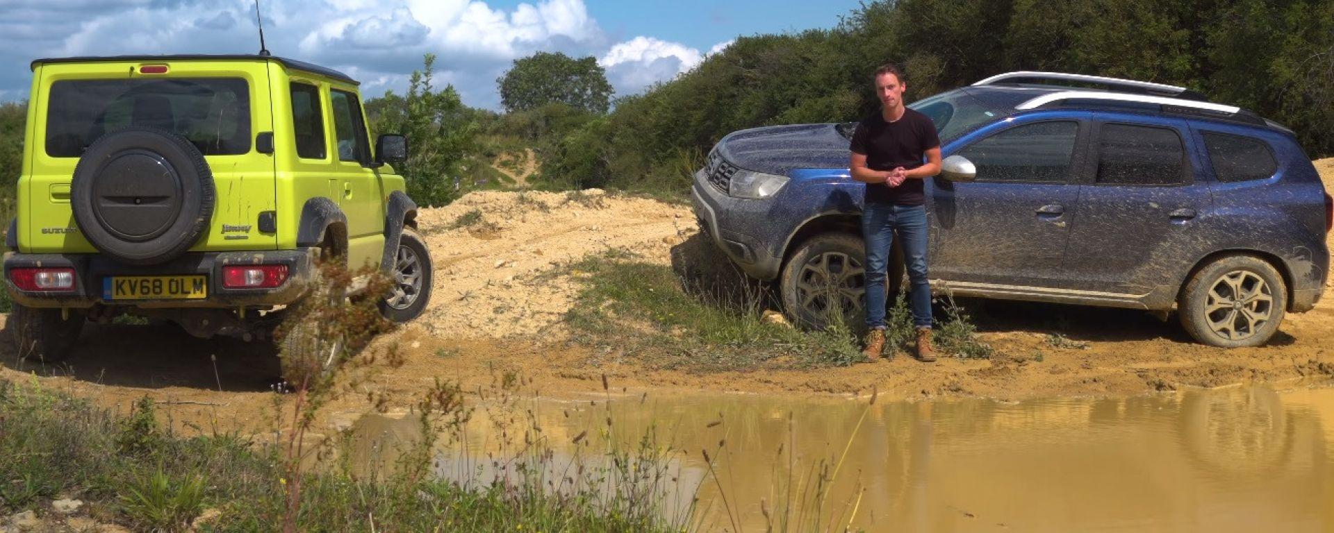 Suzuki Jimny e Dacia Duster: sfida tra 4x4 low cost