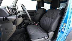 Suzuki Jimny, gli interni