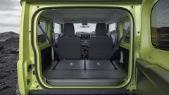 Suzuki Jimny: il bagagliaio
