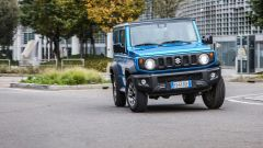 Suzuki Jimny, il frontale