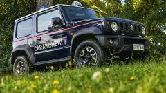 Suzuki Jimny in forza ai Carabinieri