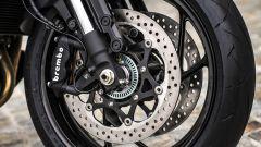 Suzuki Katana 2019: le pinze Brembo ad attacco radiale