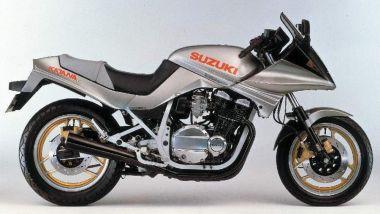 Suzuki Katana 7584: il modello originale del 1984