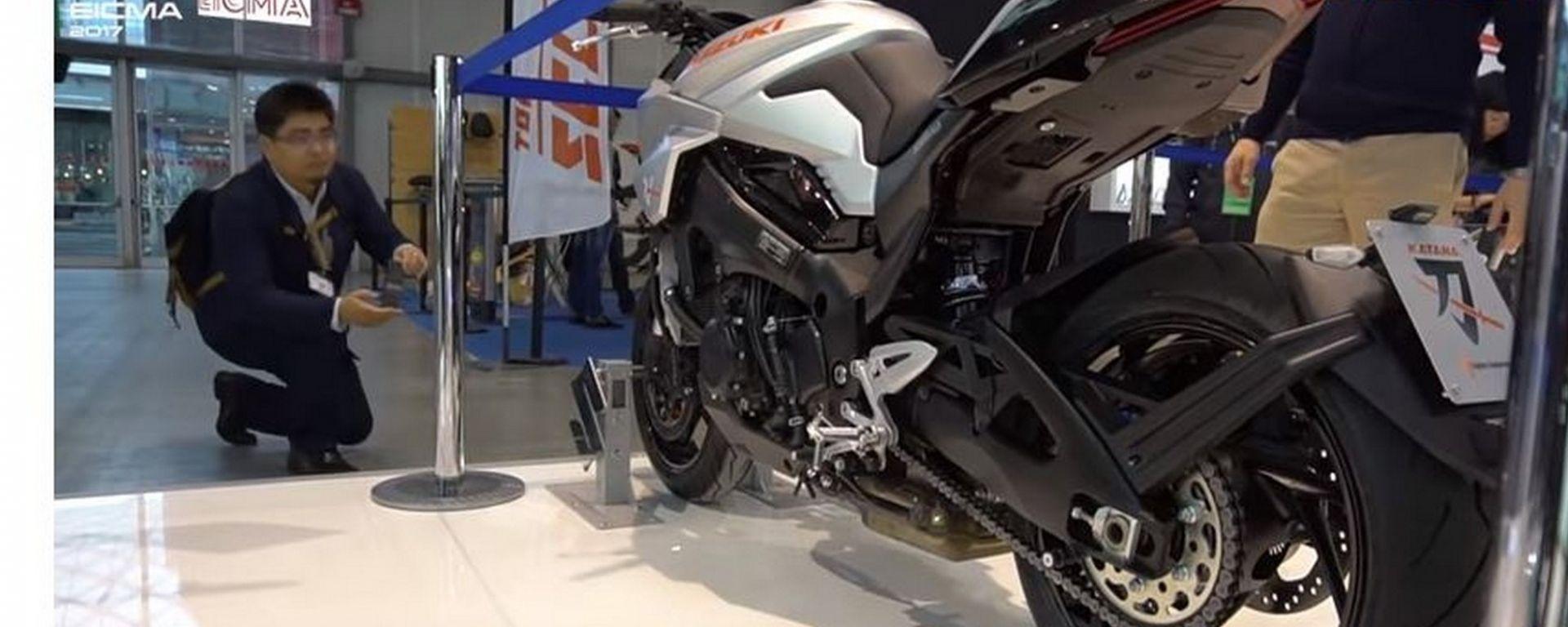 Suzuki Katana Concept a EICMA 2017