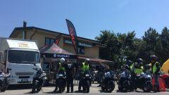 Suzuki Katana Hill Climb Tour: foto del raduno