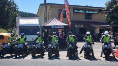 Suzuki Katana Hill Climb Tour: foto della tappa sul Passo della Raticosa