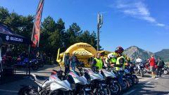 Suzuki Katana Hill Climb Tour: i test ride tra i monti italiani