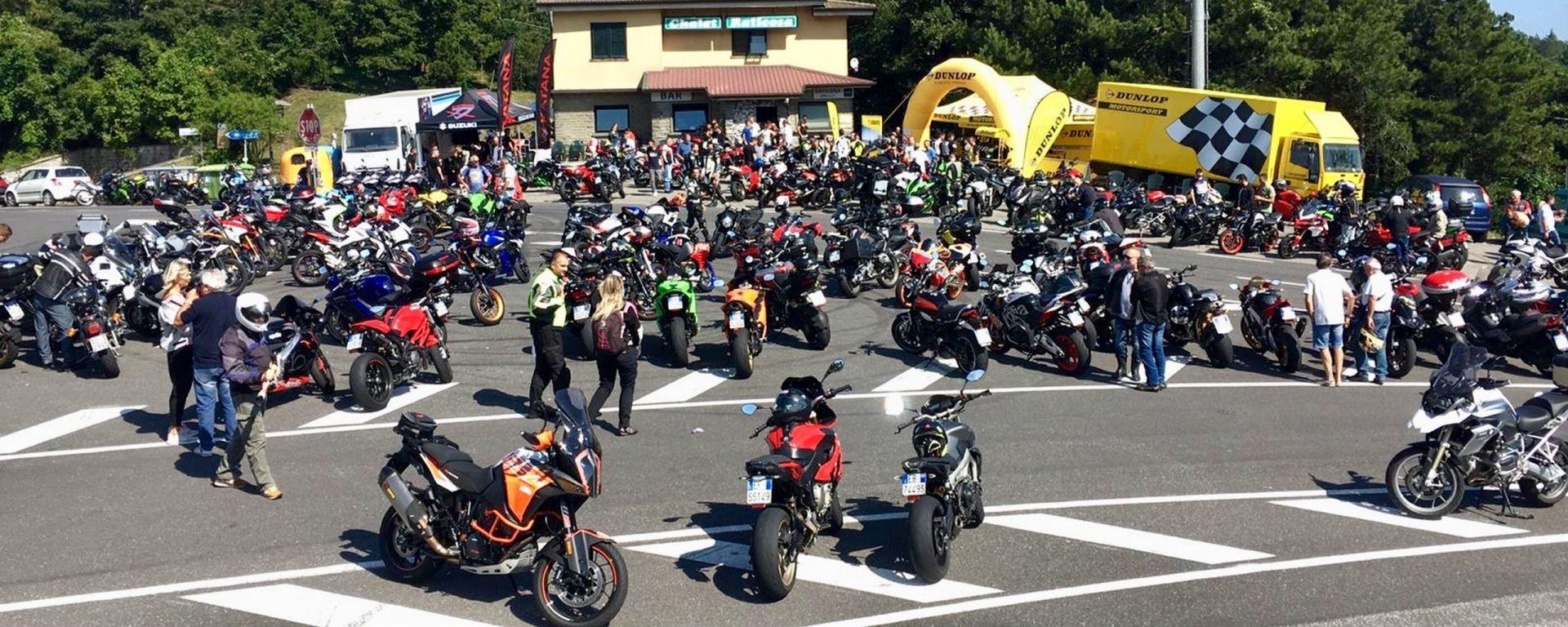 Suzuki Katana Hill Climb Tour: il raduno