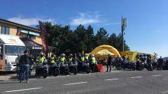 Suzuki Katana Hill Climb Tour: le moto schierate nella scorsa tappa